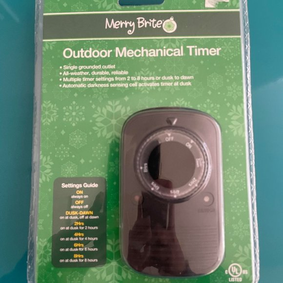 NWT- Outdoor Electrical Timer